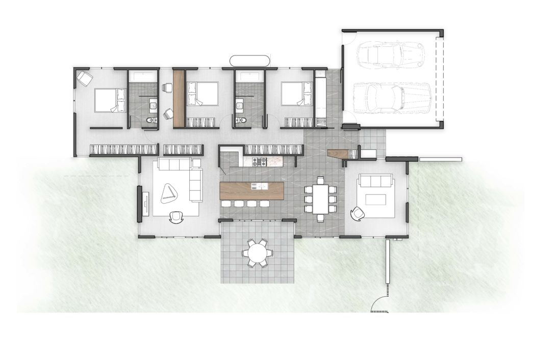 Typology BT House Series pre-design 1A